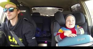 Guida spericolata – ma al bambino piace