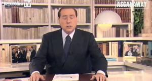 Il vero videomessaggio di Silvio Berlusconi
