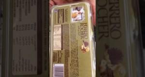 Se vi piacciono i Ferrero Roche non guardate questo video