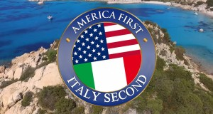 America first. Italy Second.
